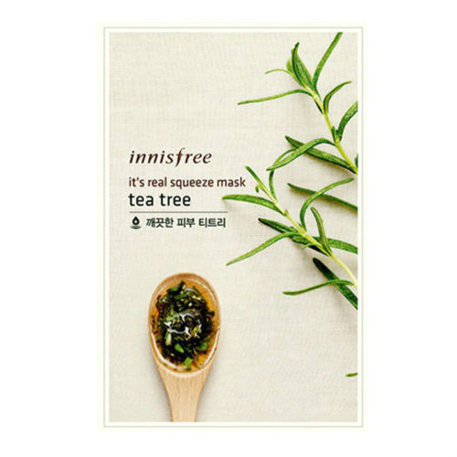 [Made in KOREA]  InnisFree - Tea Tree Moisturizing Mask Sheet