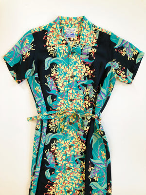 HAWAIIAN SHIRT DRESS