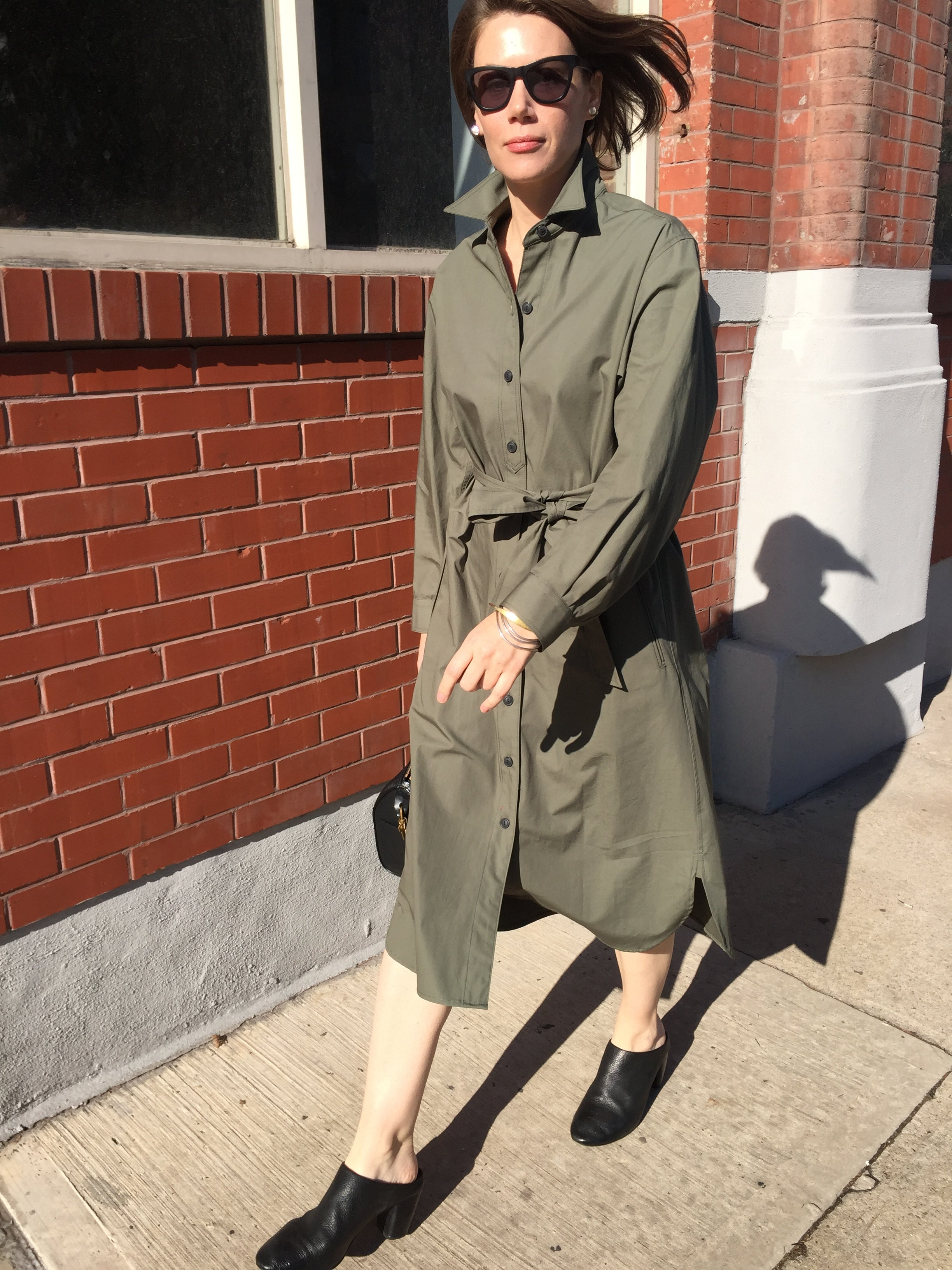 WREN SHIRT DRESS
