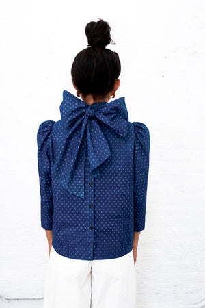 CHELSEA REVERSIBLE BOW TOP