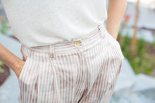 Load image into Gallery viewer, Pink-striped  trousers