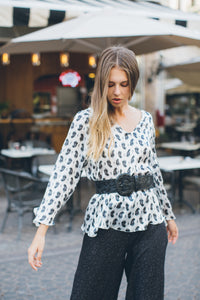 Paisley Loose Blouse