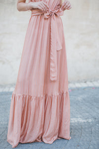 Long Dress with Stripes