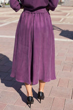 Load image into Gallery viewer, Dark Lilac Skirt