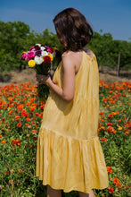 Load image into Gallery viewer, Yellow Tier Dress