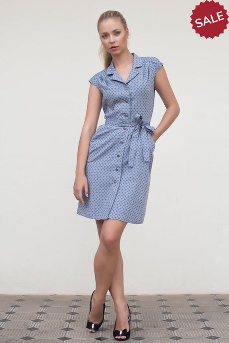 Buttoned Dress