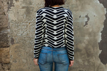 Load image into Gallery viewer, Zebra Jacket in Black and White