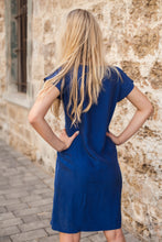 Load image into Gallery viewer, Short Blue Dress