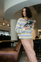 Load image into Gallery viewer, Beige Striped Sweater