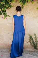Load image into Gallery viewer, Blue Long Dress