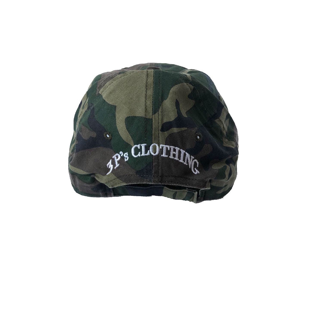 """The Principles"" Camo Dad Hat - 3 P's Clothing"