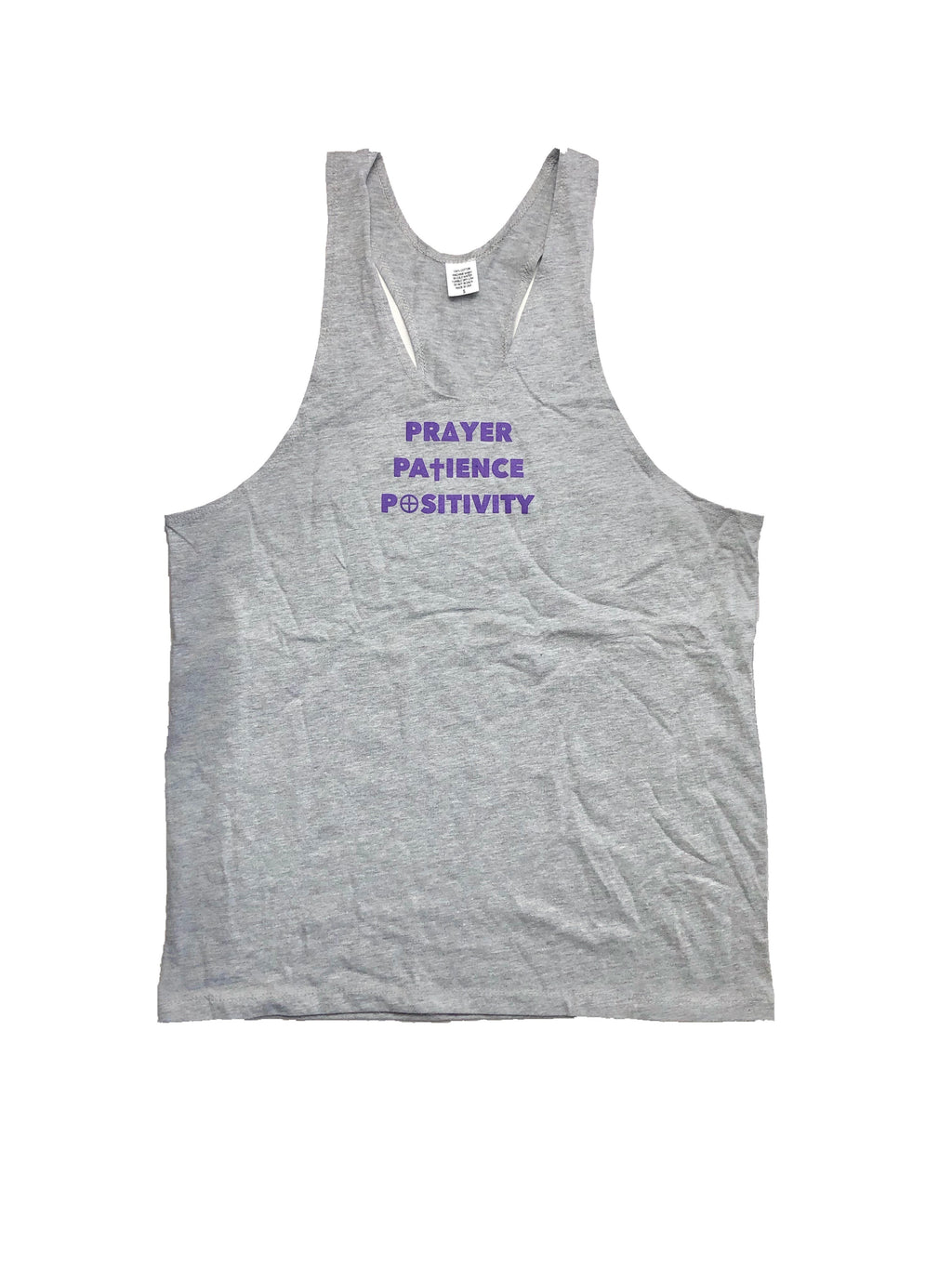 3 P's CLOTHING Athletic-Cut Workout Tank Top - 3 P's Clothing