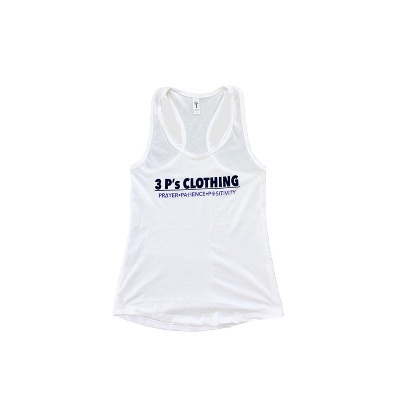 """3 P's CLOTHING"" Ladies Tank Top - 3 P's Clothing"