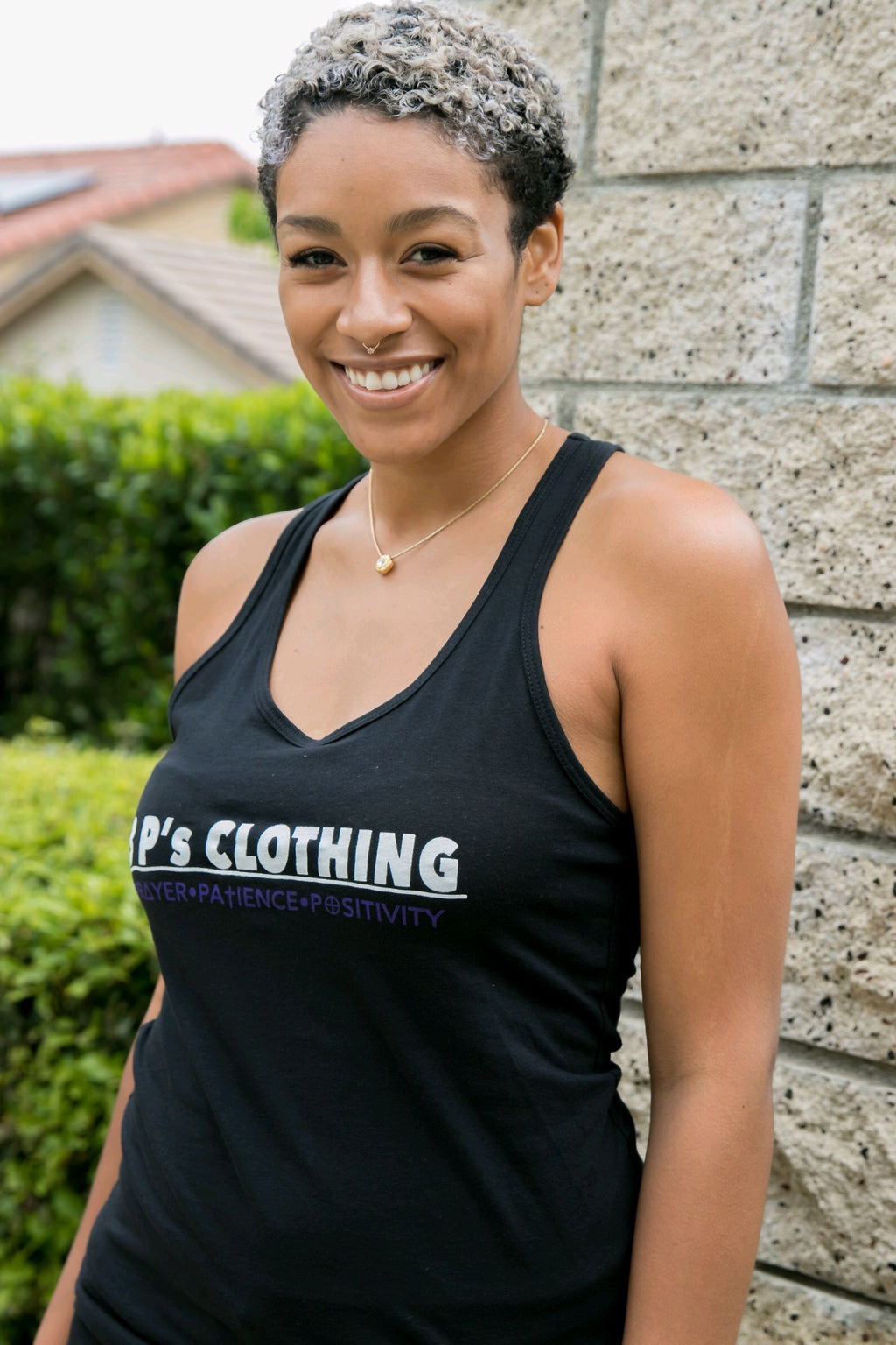 """3 s CLOTHING"" Ladies Tank Top - 3 P's Clothing"