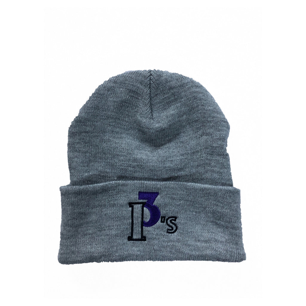 """The Logo"" Beanie - 3 P's Clothing"