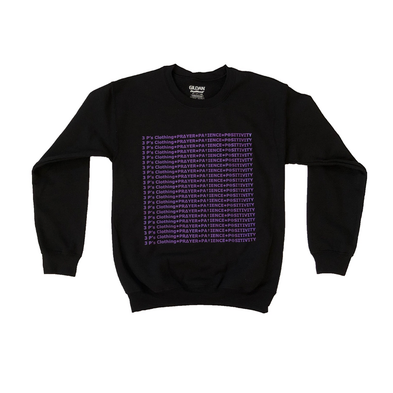 """3 P's"" Crewneck - 3 P's Clothing"