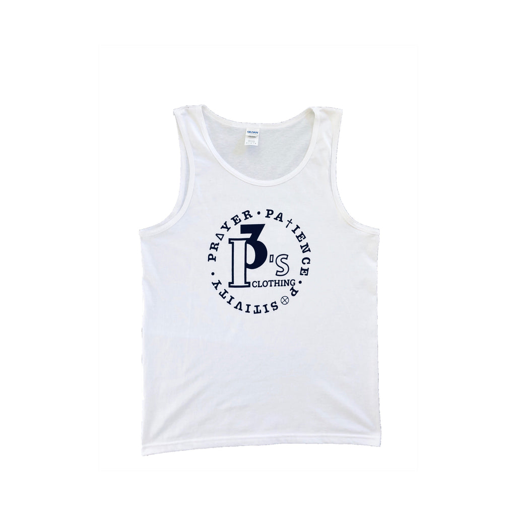 """Circle of Principles"" Men's Tank Top - 3 P's Clothing"
