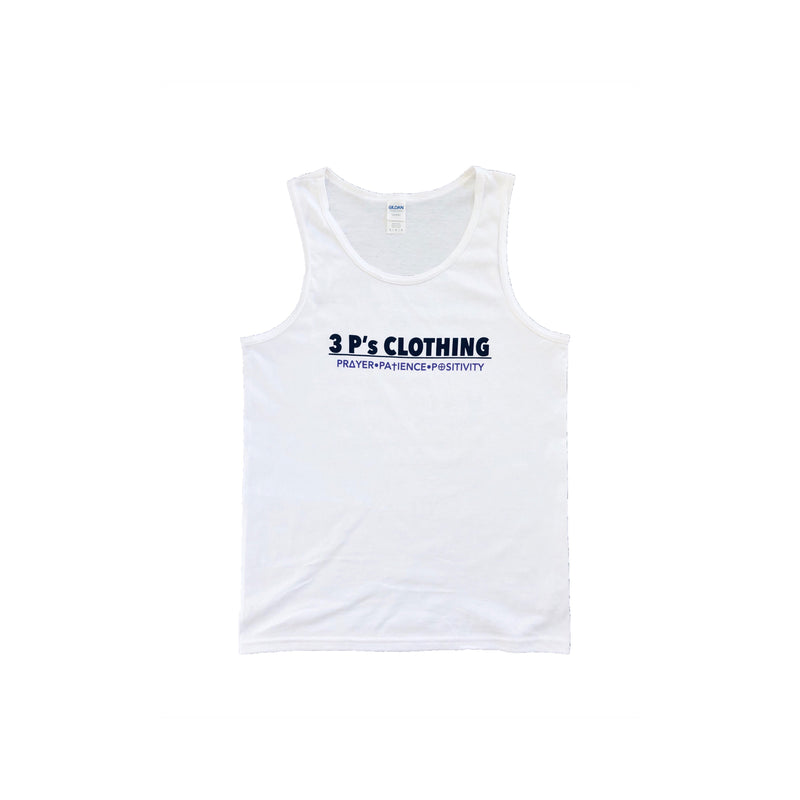 """3 P's CLOTHING"" Men's Tank Top - 3 P's Clothing"
