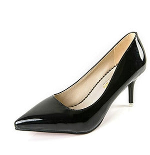 Summer Patent leather Heel