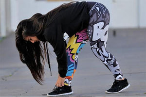 brandnewer - Digital Printing Fitness Women's Leggings