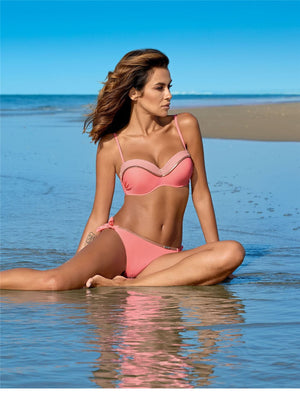 brandnewer - Sexy Solid Colors Push Up Swimming Bikini