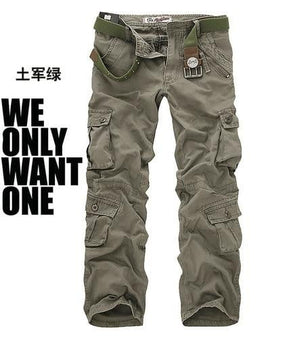 brandnewer - Cargo camouflage military trousers