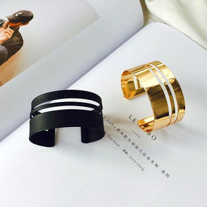 brandnewer - European and American fashion multi layer geometric bangle