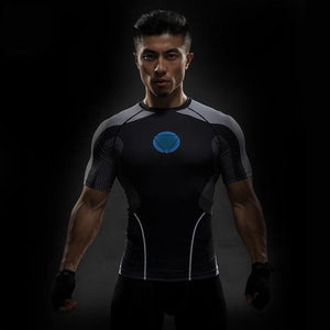 brandnewer - 3D Compression Super Heros T Shirt