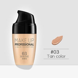 brandnewer - Whitening Primer Oil Control and Waterproof Liquid Foundation Concealer