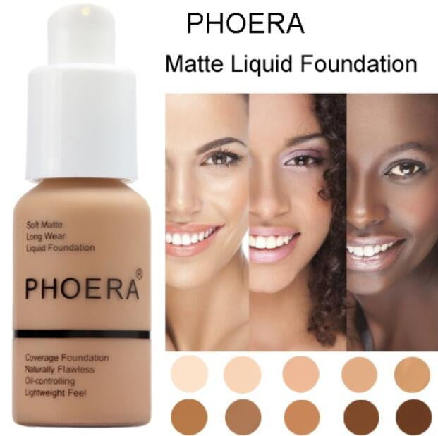 Phoera Perfect Beauty 30ml Long Wear Oil Control Concealer Foundation