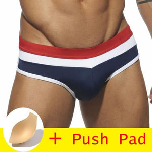 brandnewer - 17 Style Men's swimming trunk comes with a free pad