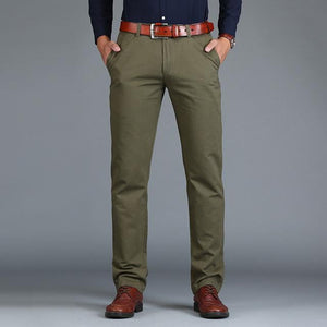 brandnewer - Straight Loose Casual Trousers Business Suit Pants