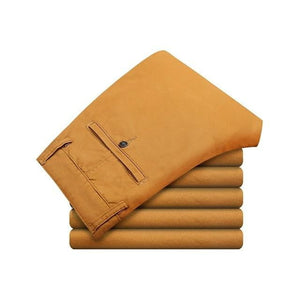 brandnewer - Mens High Quality Cotton Casual Pants in 4 color
