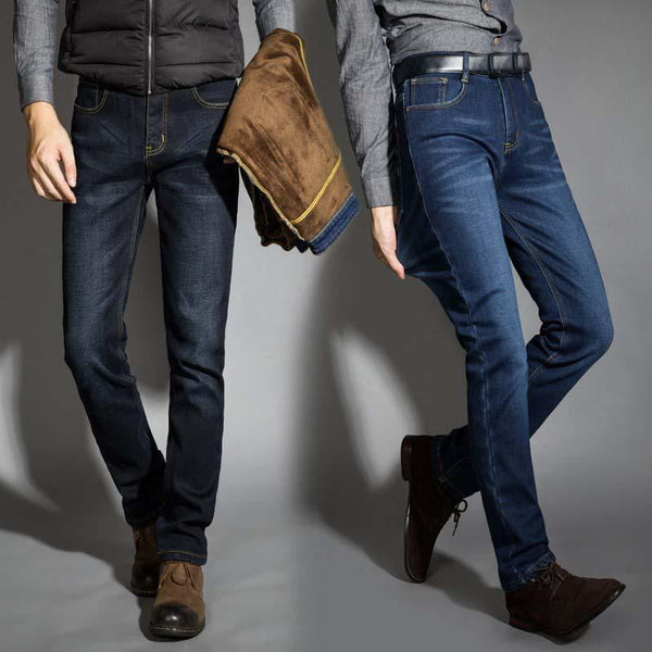 brandnewer - Soft warm stylish Men's Jeans
