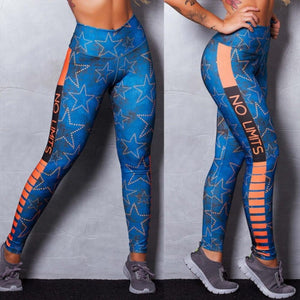 brandnewer - Star Pattern Printing Women's Leggings