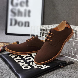 brandnewer - Stylish High Quality Suede Casual Men Shoes