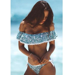 brandnewer - Sexy Push Up Brazilian Bandeau Summer Beach Bathing Suits