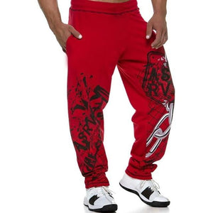 brandnewer - Elastic waistband Fitness sweatpants