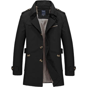 brandnewer - Smart Men's Trench Coat