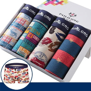 brandnewer - 4 pieces Men Printed Boxer in a box