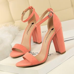 Open Toe High Heels