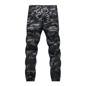 brandnewer - Pencil Harem Camouflage Military Loose Comfortable Cargo Trousers