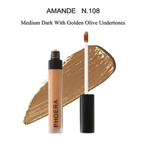 brandnewer - Base Sweatproof Lasting Whitening Corrector Foundation Concealer