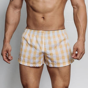 brandnewer - High Quality Comfortable Plaid Underwear