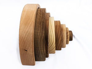 Wooden Rainbow Stacker | Natural