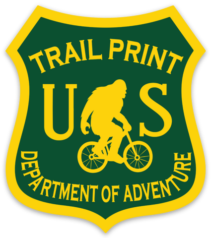Department of Adventure Decal