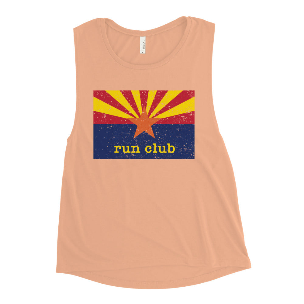 Run Club Muscle Tank