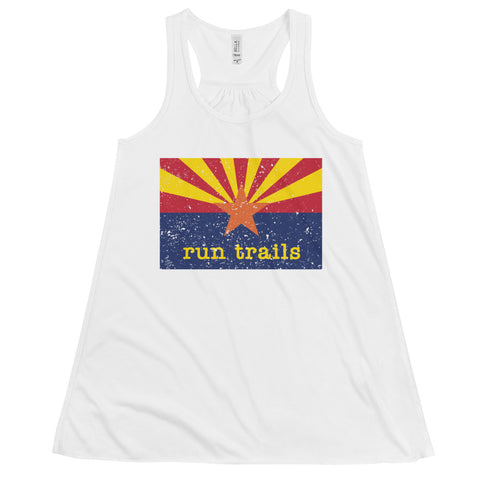 Run Trails Flowy Racerback Tank