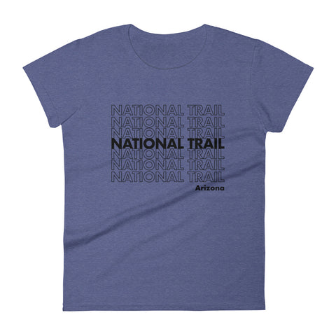 National Trail Women's short sleeve t-shirt