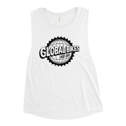 Global Bikes Muscle Tank (Black)
